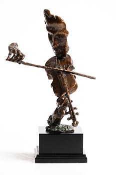 20th Century Continental School, The Violinist at Morgan O'Driscoll Art Auctions