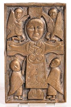 20th Century Irish School, Celtic Cross Crucifix at Morgan O'Driscoll Art Auctions