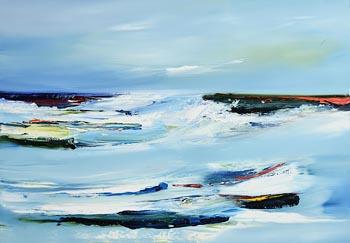 Majella O'Neill Collins, Studio View, Sherkin (2018) at Morgan O'Driscoll Art Auctions