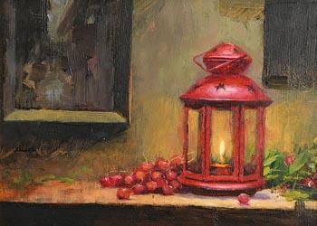 Mat Grogan, The Red Lantern at Morgan O'Driscoll Art Auctions