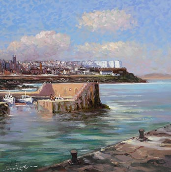 William Cunningham, Portstewart Harbour at Morgan O'Driscoll Art Auctions