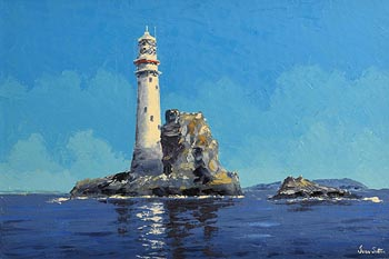 Ivan Sutton, Fastnet Lighthouse at Morgan O'Driscoll Art Auctions