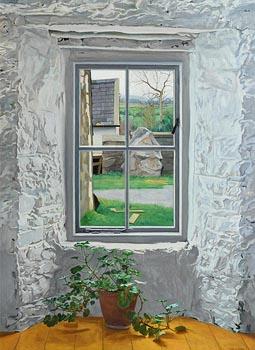 Carey Clarke, Farmhouse Window (1999) at Morgan O'Driscoll Art Auctions