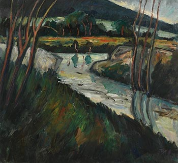 Peter Collis, Wicklow Landscape at Morgan O'Driscoll Art Auctions