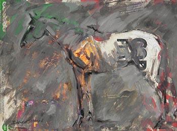 Basil Blackshaw, Horse at Morgan O'Driscoll Art Auctions