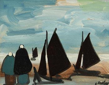 Markey Robinson, Shawlies by the Shore at Morgan O'Driscoll Art Auctions