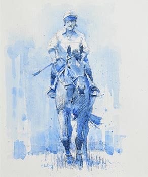 Peter Curling, Riding Out at Morgan O'Driscoll Art Auctions