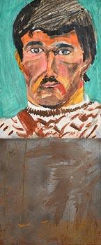 Brian Maguire, Prisoner Fox, Portlaoise, Prejudicial Portrait Series (1991) at Morgan O'Driscoll Art Auctions