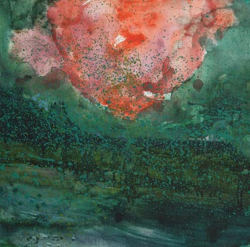 Barrie Cooke, Lough Arrow Algae Bloom (1998) at Morgan O'Driscoll Art Auctions