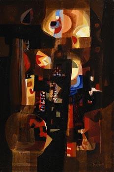 George Campbell, Circus Mood at Morgan O'Driscoll Art Auctions