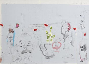 Patrick Graham, Studies From Another Place (2017) at Morgan O'Driscoll Art Auctions