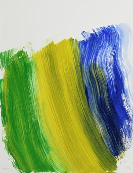 Howard Hodgkin, The Road to Rio (2016) at Morgan O'Driscoll Art Auctions