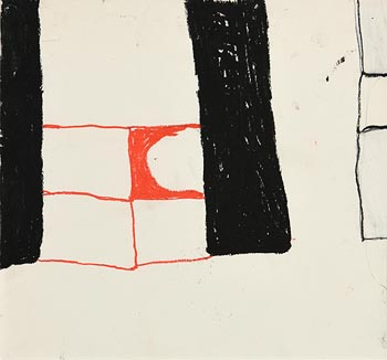 William Scott, Abstract Composition (1964) at Morgan O'Driscoll Art Auctions