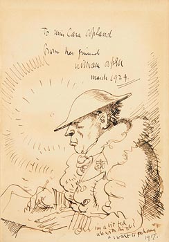 Sir William Orpen, An Onlooker in France (1917-1919) at Morgan O'Driscoll Art Auctions