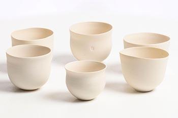 Sara Flynn, White Bowls at Morgan O'Driscoll Art Auctions