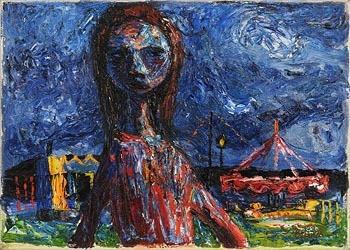 Colin Middleton, Thisbe (1950) at Morgan O'Driscoll Art Auctions