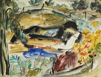 Norah Allison McGuinness, Spring Lake, Co. Wicklow (1944) at Morgan O'Driscoll Art Auctions