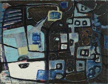 Gerard Dillon, Two Sides at Morgan O'Driscoll Art Auctions