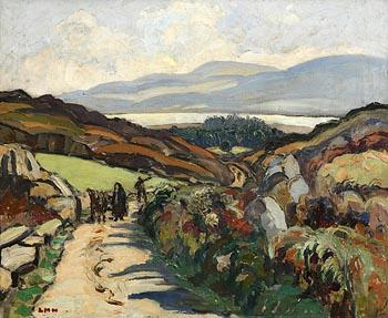 Letitia Marion Hamilton, The Mountain Road, West Cork at Morgan O'Driscoll Art Auctions