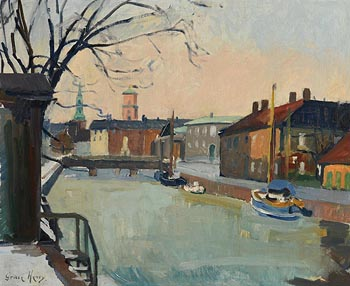 Grace Henry, On the River at Morgan O'Driscoll Art Auctions