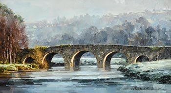 Mark O'Neill, Millhouse Bridge (2020) at Morgan O'Driscoll Art Auctions