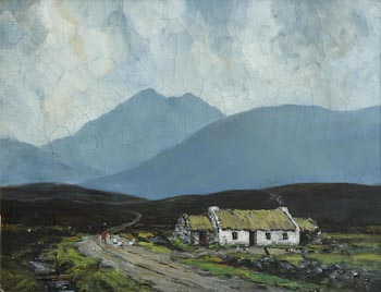 John Crampton Walker (1890-1942), A Kerry Cottage (1939) at Morgan O'Driscoll Art Auctions
