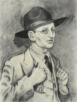 Harry Aaron Kernoff, Self Portrait (1936) at Morgan O'Driscoll Art Auctions