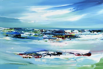 Majella O'Neill Collins, From the Studio, Sherkin Island (2020) at Morgan O'Driscoll Art Auctions