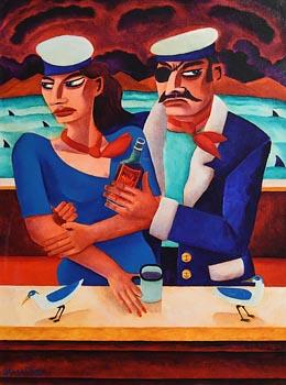 Graham Knuttel, Rum Chance at Morgan O'Driscoll Art Auctions