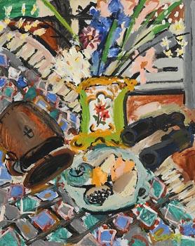 Elizabeth Cope, Still Life at Morgan O'Driscoll Art Auctions