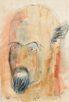 Tony O'Malley, Self Portrait (1961) at Morgan O'Driscoll Art Auctions