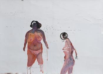 Patrick Graham, Artist, Model Series (2005/6) at Morgan O'Driscoll Art Auctions