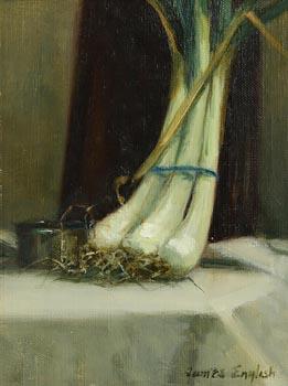 James English, Spring Onions (2005) at Morgan O'Driscoll Art Auctions
