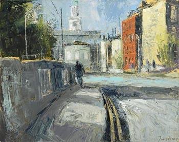 Donald Teskey, Pepper Canister Church, Dublin at Morgan O'Driscoll Art Auctions