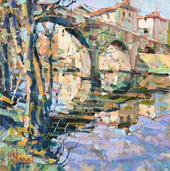 Arthur K. Maderson, The Old Bridge, Le Vigan at Morgan O'Driscoll Art Auctions