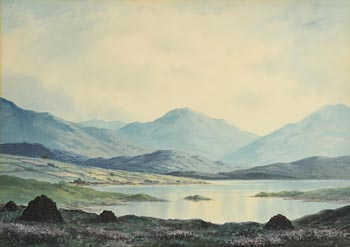 Douglas Alexander, Peat Stacks in the West of Ireland at Morgan O'Driscoll Art Auctions
