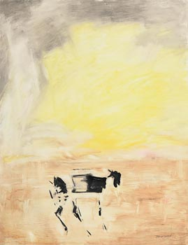 Basil Blackshaw, Goat at Morgan O'Driscoll Art Auctions