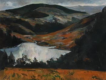 Peter Collis, Lough Tey, Co. Wicklow III at Morgan O'Driscoll Art Auctions