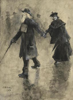 John Butler Yeats, Leading the Way (1893) at Morgan O'Driscoll Art Auctions