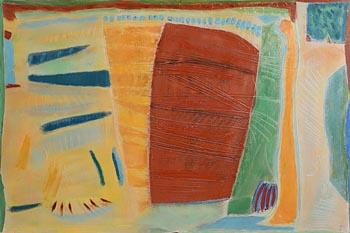 Tony O'Malley, Autumn Painting I (1981) at Morgan O'Driscoll Art Auctions