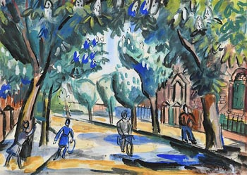 Norah Allison McGuinness, Chestnut Avenue at Morgan O'Driscoll Art Auctions
