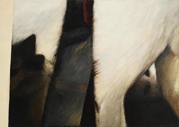 John Shinnors, Three Cats at Morgan O'Driscoll Art Auctions