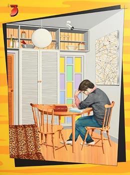 Robert Ballagh, Inside No. 3 After Modernisation (1982) at Morgan O'Driscoll Art Auctions