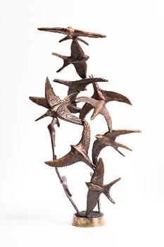 Colm J. Brennan, Swirl of Swifts at Morgan O'Driscoll Art Auctions