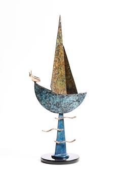 Ray Delaney, Moon Boat (2020) at Morgan O'Driscoll Art Auctions