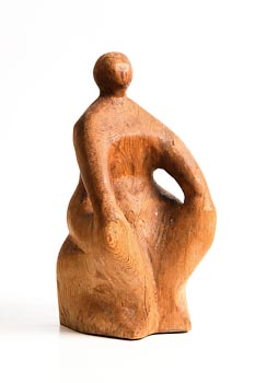 Oisin Kelly, Seated Figure at Morgan O'Driscoll Art Auctions