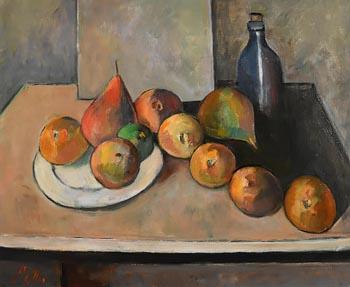 Peter Collis, Still Life on Tabletop at Morgan O'Driscoll Art Auctions