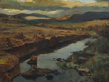 Edith Oenone Sommerville, West of Ireland Landscape at Morgan O'Driscoll Art Auctions