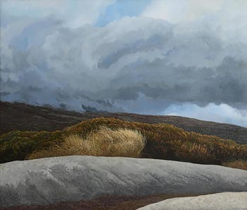 Trevor Geoghegan, Wicklow Landscape at Morgan O'Driscoll Art Auctions