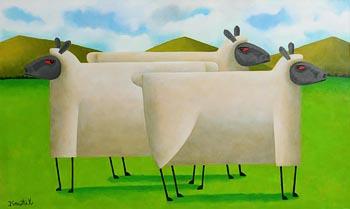 Graham Knuttel, Ewe Three at Morgan O'Driscoll Art Auctions
